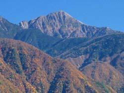 聖岳(3013m)