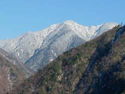 池口岳(2392m)
