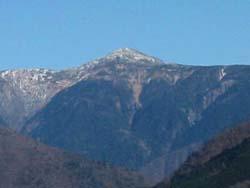 上河内岳(2803m)
